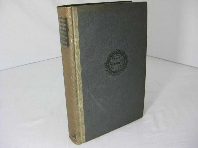 AMERICAN ENGRAVERS Upon Copper And Steel. Part 1 Biographical Sketches Illustrated (Volume 1). David McNeely Stauffer.