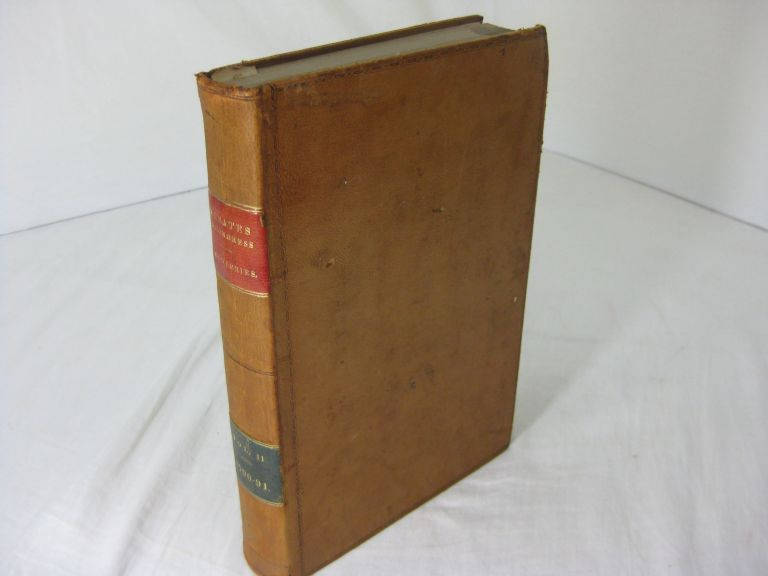THE DEBATES AND PROCEEDINGS IN THE CONGRESS OF THE UNITED STATES; with an Appendix, containing Important State Papers and Public Documents, and all the laws of a public nature; with a copious index. (Volume II(of 2) only)