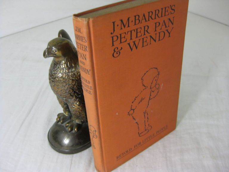 J.M.Barrie's PETER PAN & WENDY: Retold by May Byron for Little People with the Approval of the Author. J. M. Barrie, Mabel Lucie Attwell.