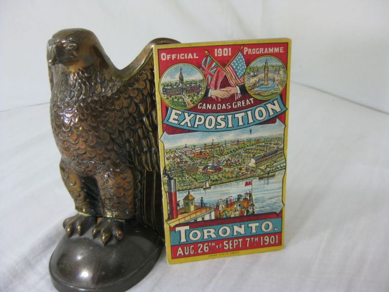 OFFICIAL PROGRAMME CANADA'S GREAT EXPOSITION AGRICULTURAL FAIR AND LIVE STOCK SHOW 1901. Toronto, Canada, August 26th to September 7th, 1901