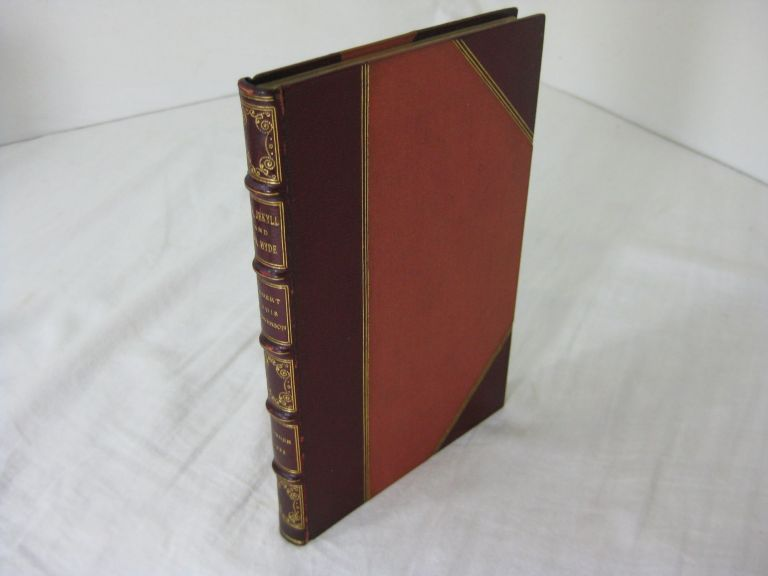 STRANGE CASE OF DR JEKYLL AND MR HYDE (Fine binding. Robert Louis Stevenson
