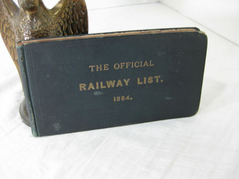 THE OFFICIAL RAILWAY LIST: A Directory of the Presidents, Vice Presidents, General Managers, ... of Railways in North America. Willard C. Tyler.
