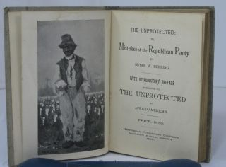 THE UNPROTECTED; OR, MISTAKES OF THE REPUBLICAN PARTY. With Introductory Preface Dedicated to The Unproteced by Africo-American.