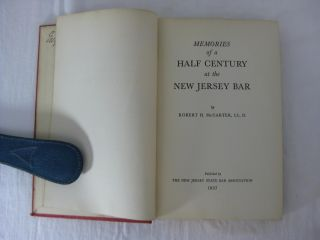 MEMORIES OF A HALF CENTURY AT THE NEW JERSEY BAR