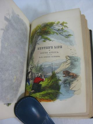 A HUNTER'S LIFE AMONG LIONS, ELEPHANTS and other Wild Animals of South Africa. Two volumes in one. Complete.