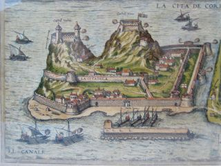 [MAP] CANDIA (with) LA CITA DE CORFU
