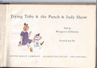 TRYING TOBY & THE PUNCH & JUDY SHOW