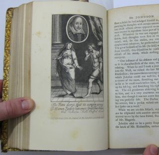 THE LIFE OF SAMUEL JOHNSON (2nd edition, Complete in three volumes; extra-illustrated with 151 plates)