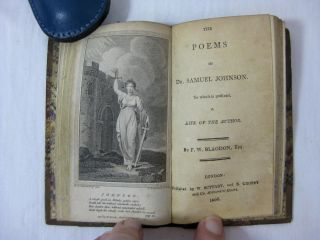 THE POETICAL WORKS OF WILLIAM COLLINS; (with) THE POEMS OF DR. SAMUEL JOHNSON.