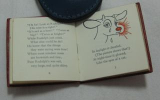 RUDOLPH THE RED-NOSED REINDEER (Inscribed) (Miniature)