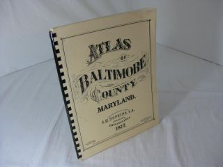 ATLAS OF BALTIMORE COUNTY, MARYLAND 1877
