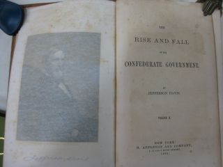 THE RISE AND FALL OF THE CONFEDERATE GOVERNMENT (volume 2, only)