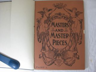 MASTERS AND MASTERPIECES (Part 1
