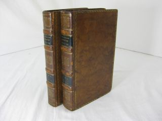 A HISTORY OF THE EARTH, and Animated Nature. (Volumes 1 and 2 only, of 5). Oliver Goldsmith