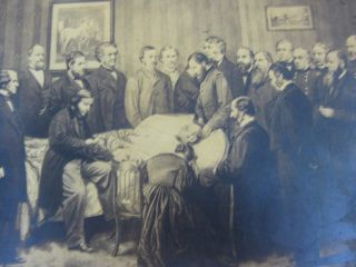 [Art] DEATH-BED OF LINCOLN, April 15, 1865