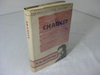 CHAUCER. G. K. Chesterton