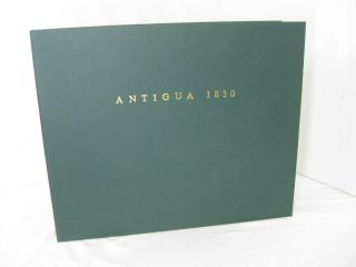 A NEW EDITION OF AN HISTORICAL AND DESCRIPTIVE ACCOUNT OF ANTIGUA. Illustrated by Numerous...
