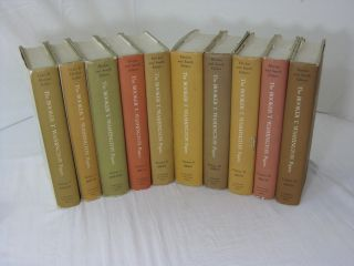 THE BOOKER T. WASHINGTON PAPERS, Vols. 3, 4, 5, 7, 8, 9, 10, 11, 12, 13. (SIGNED). Booker T....