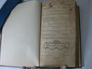 THE FARMER'S FRIEND, or The History of Mr. Charles Worthy: who, from being a poor orphan, rose through various scenes of distress and misfortune to wealth an eminence, by industry, economy and good conduct.