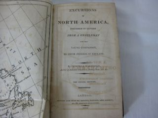EXCURSIONS IN NORTH AMERICA, Described In Letters From A Gentleman And His Young Companion, To Their Friends In England.