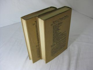 THE EARLY LIFE OF THOMAS HARDY 1840 - 1891 and THE LATER YEARS OF THOMAS HARDY 1892 - 1928 ( Two volume set, complete, in dustjackets )