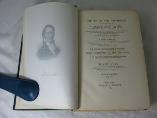 HISTORY OF THE EXPEDITION UNDER THE COMMAND OF LEWIS AND CLARK (Volume II, only)