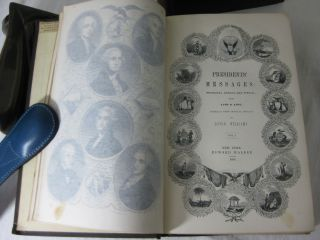 THE STATESMAN'S MANUAL. The Addresses and Messages of the Presidents of the United States, Inaugural, Annual, and Special, from 1789 to 1846: with a memoir of each of the Presidents, and a history of their administrations.. (2 volume set, complete)