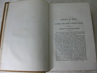 COTTON IS KING, AND PRO-SLAVERY ARGUMENTS: Comprising The Writings Of Hammond, Harper, Christy, Stringfellow, Hodge, Bledsoe, And Cartwright, on this important subject.