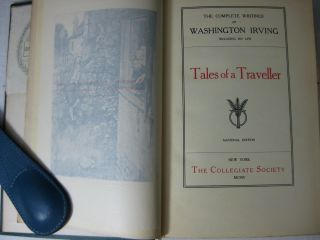 The Complete Writings of WASHINGTON IRVING, including his life. (19 volumes bound in 28)