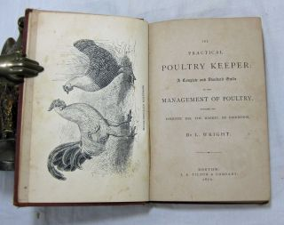 THE PRACTICAL POULTRY KEEPER: A Complete and Standard Guide to the Management of Poultry, whether for domestic use, the market, or exhibition.