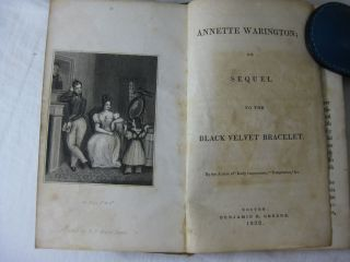 ANNETTE WARINGTON, or, Sequel to the Black Velvet Bracelet