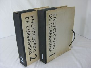 ENCYCLOPEDIE DE L'URBANISME (Encyclopedia of Urbanism) (2 volume set, complete