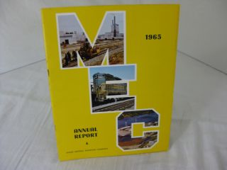 THE ANNUAL REPORT OF THE MAINE CENTRAL RAILROAD COMPANY FOR THE YEAR 1965