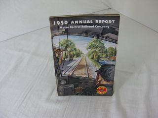 1950 ANNUAL REPORT MAINE CENTRAL RAILROAD