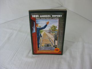 1951 ANNUAL REPORT MAINE CENTRAL RAILROAD