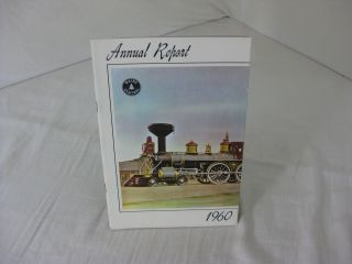 1960 ANNUAL REPORT MAINE CENTRAL RAILROAD COMPANY