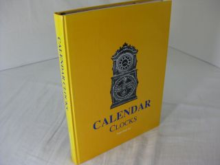 CALENDAR CLOCKS (with 1993 & 2000 Price Updates). Tran Duy Ly