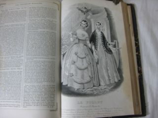 THE COLUMBIAN LADY'S AND GENTLEMAN'S MAGAZINE, Embracing Literature in Every Department: embellished with the finest steel and mezzotint engravings, music and colored fashions. Volume IV