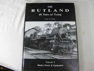 THE RUTLAND: 60 Years of Trying (7 volumes, 9 books)
