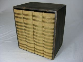 REMEMBRANCE OF THINGS PAST (Four-Volume Set Complete in Wooden Case