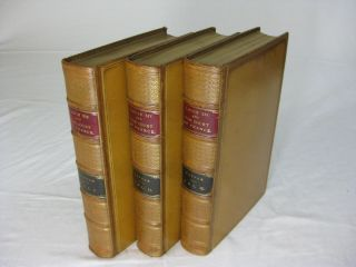 LOUIS THE FOURTEENTH and The Court Of France In The Seventeenth Century (3 volume set, in Fine...