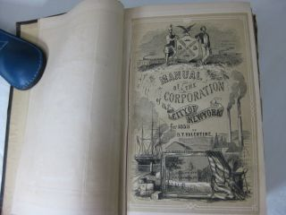 MANUAL OF THE CORPORATION OF THE CITY OF NEW YORK FOR 1858