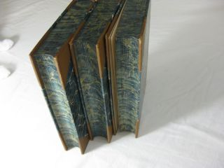 Oliver Cromwell's LETTERS AND SPEECHES with elucidations [3 volume set, complete, in Fine Binding]