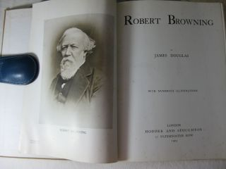 ROBERT BROWNING With Numerous Illustrations