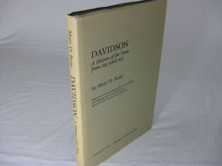 DAVIDSON: A History of the Town from 1835 until 1937 (Signed). Mary D. Beaty