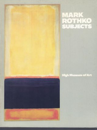 Mark Rothko Subjects