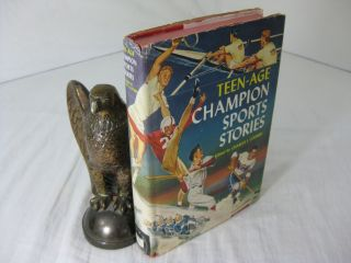 TEEN-AGE CHAMPION SPORTS STORIES. Charles I. Coombs