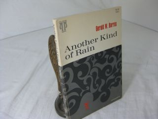 ANOTHER KIND OF RAIN: POEMS. Gerald W. Barrax